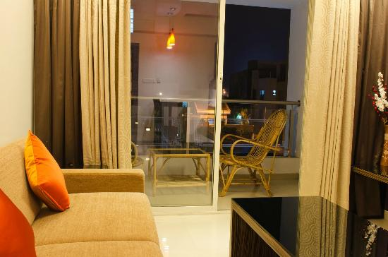 The Haven Serviced Residences: Balcony