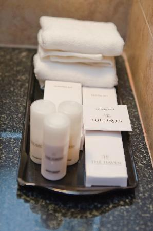 The Haven Serviced Residences : Toiletries
