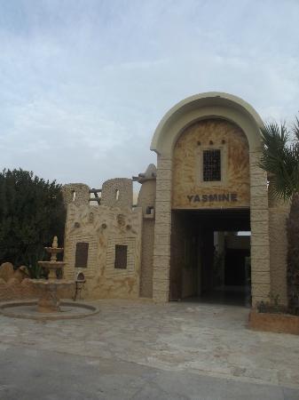 Club Marmara Yasmine: Entrée de l'hôtel Yasmine
