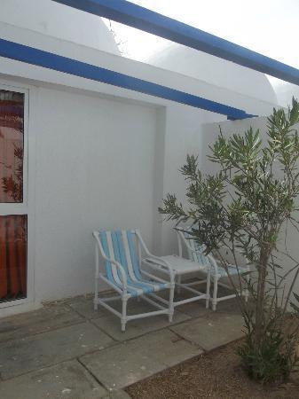 Club Marmara Yasmine: Patio du bungalow 