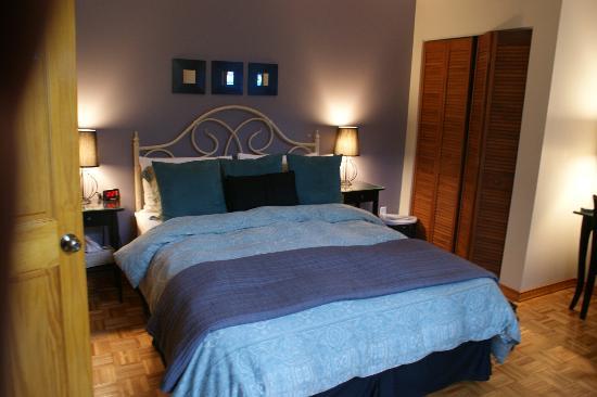 Accueil Chez Francois B&B: Chambre 1 avec vue sur le parc (suite)