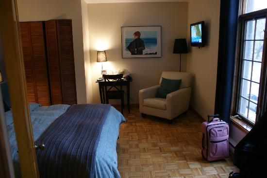 Accueil Chez Francois B&B: Chambre 1 (avec vue sur le parc) suite