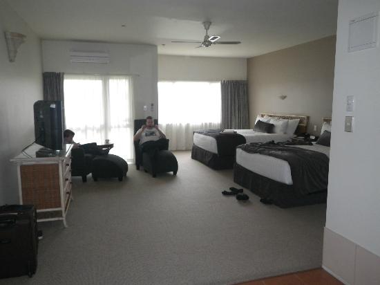 Rydges Rotorua: from the entry