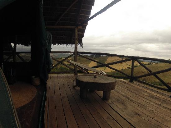 Rhotia Valley Tented Lodge: The landscape