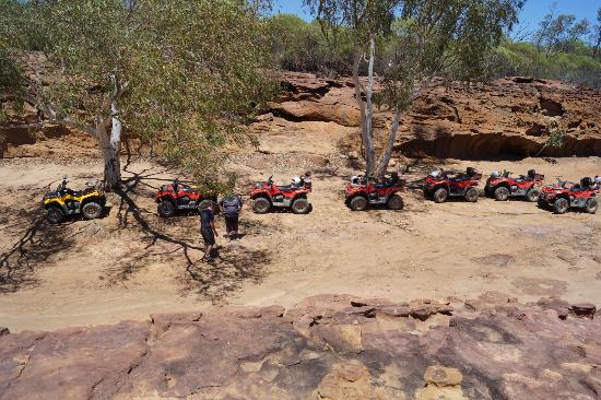 Kalbarri Quadbike Safaris: The Quad Group from above