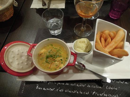 Ti Toques : zuppa di Tofou