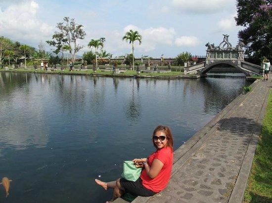 Seraya, Indonesia: cool water