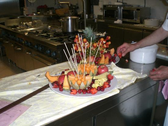 La Costa: composizione di frutta