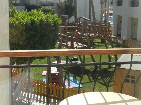 Sierra Sharm El Sheikh : View from our Balcony @ The Sierra