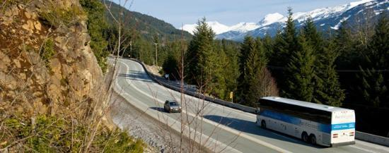 Whistler Blackcomb : Sea & Sky Highway