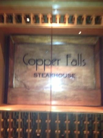 Copper Falls Steakhouse : best restaurant in the Caymans
