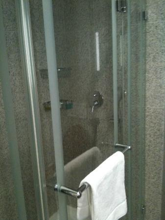 Hotel des Trois Couronnes: No bathtube but great rain shower