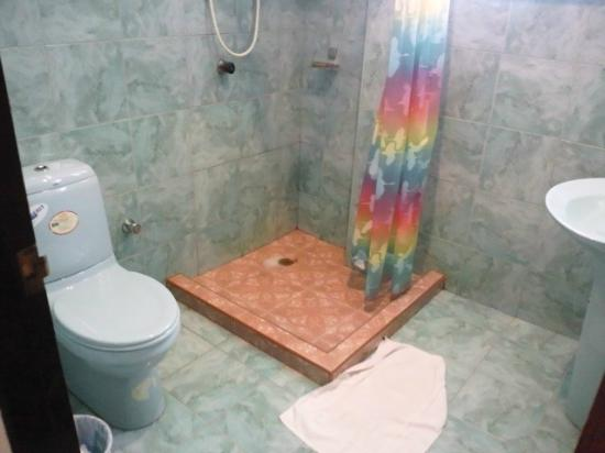 Break Point Hotel : シャワー・トイレ・洗面ルーム 清潔