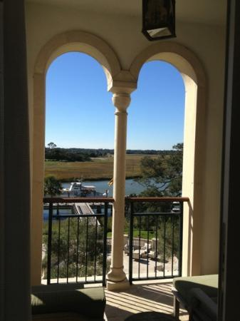 The Cloister at Sea Island: balcony