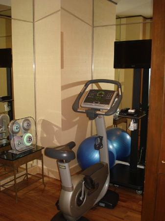 Sheraton Imperial Kuala Lumpur Hotel: Personal gym off in an alcove off of the master bathroom