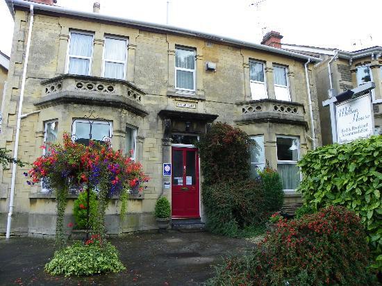 Milton House: Front of Milton House.