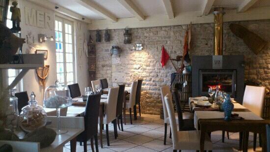Le Saint Pierre : salle du restaurant