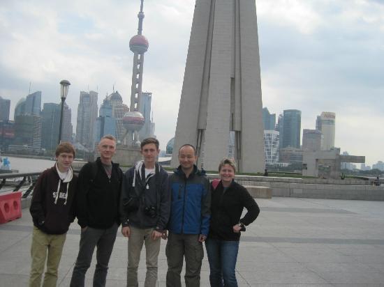 Shanghai Tour Facilitator - Harris Private Tour: With Harris in the Bund area