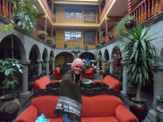 Hotel Munay Wasi: vista da área social