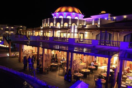 Вид на рестораны