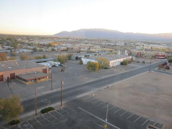 "Hotel Albuquerque at Old Town: ""lovely"" view from my room"