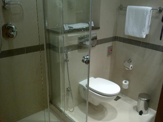 Holiday Inn Express Dubai Airport: Baño
