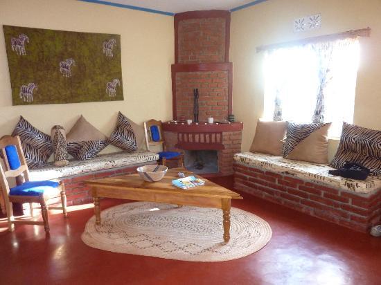 Tanzanice Farm : from dining room