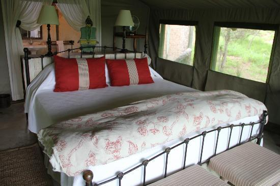 Tanda Tula Safari Camp: bedroom