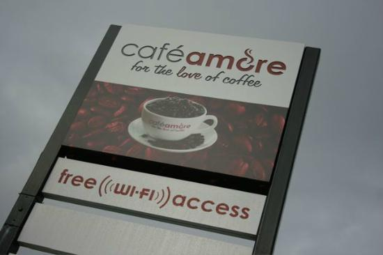 Cafe Amore Look Out For The Sign