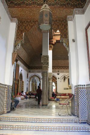 Palais Mnebhi : ingresso