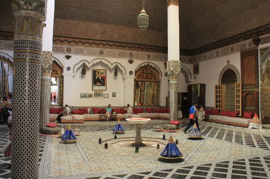 Palais Mnebhi : sala principale