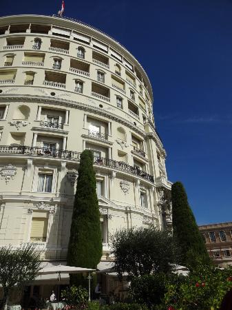 Hotel De Paris: Vista das suítes de frente para o mar