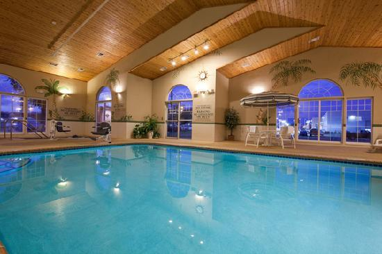 Country Inn & Suites By Carlson, Cedar Falls: Feel the soothing effects of our heated indoor pool & whirlpool