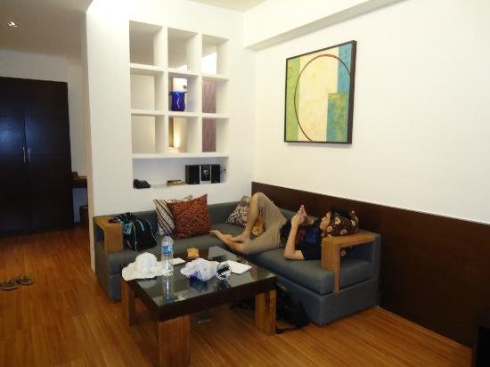 The Wangsa Private Estate: living rrom