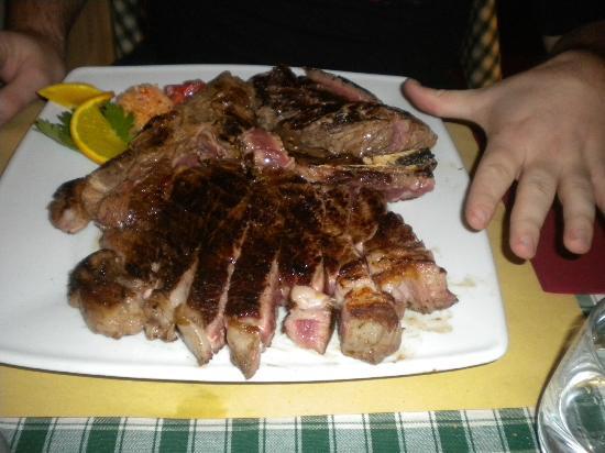 Osteria Kamollia: Fiorentina 1,5 kg