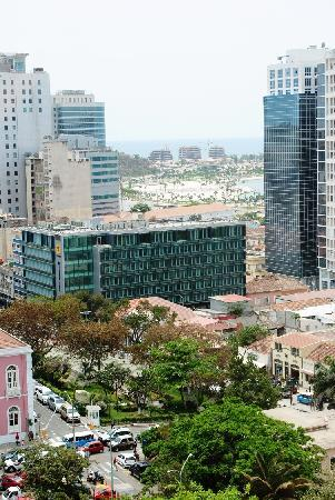 Skyna Hotel Luanda: View from the 5th floor