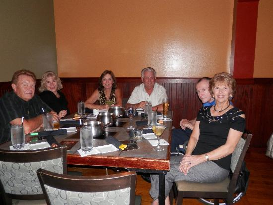 The Melting Pot: Group dinner at Metlting Pot, Tampa, FL