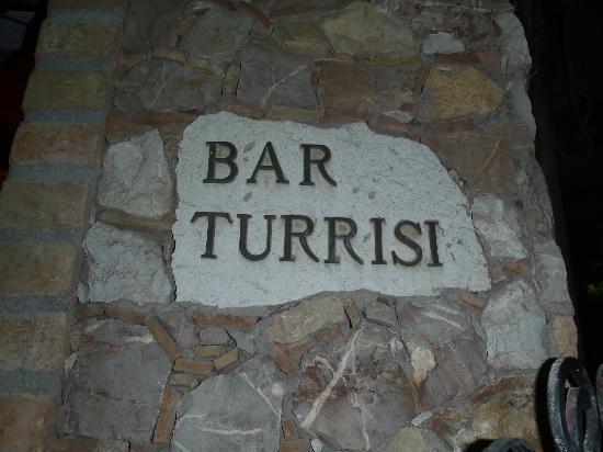 caffe bar Turrisi: Targa
