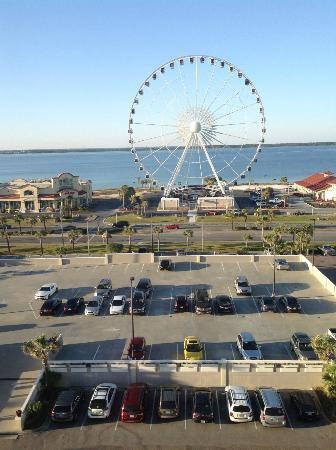 "Hilton Pensacola Beach: Heads Up. *your view if you DON""T request a ""Gulf Front""*"