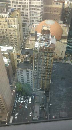 New York Hilton Midtown: View from Room 33rd floor.