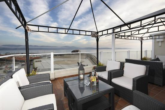 Hotel Rotilio: Terraza sexta planta