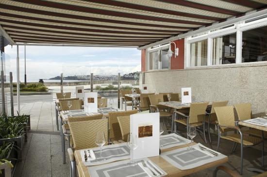 Hotel Rotilio: Terraza de verano