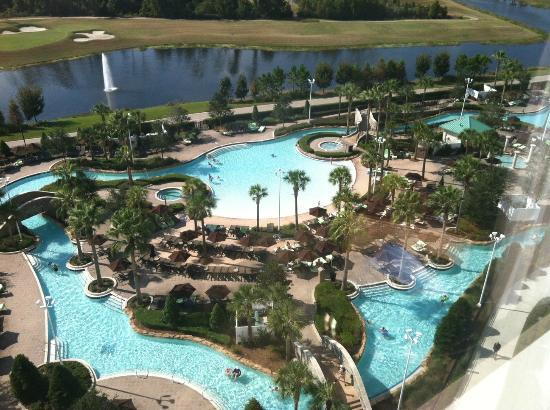 Fantastic pool with a lazy river picture of hilton for Pool show orlando florida