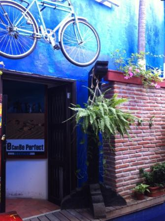 Casa Blue Business & Hotel : Entrada