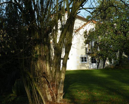 La Villa Camille: Vue du jardin