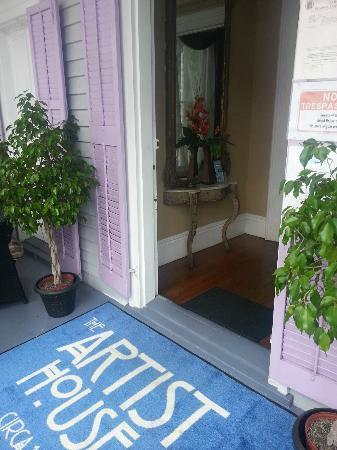 Artist House: Entrance