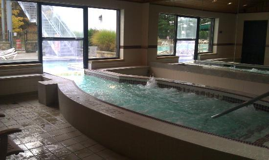 Peek'n Peak Resort and Spa: hot tub