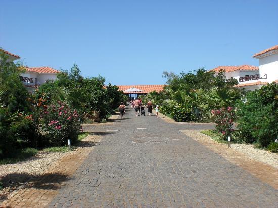 Melia Tortuga Beach Resort & Spa: Pour aller au O'grill