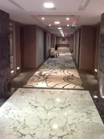 Jumeirah at Etihad Towers: nice carpet