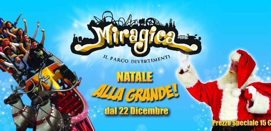 Miragica - Terra di Giganti: Miragica il 22 dicembre riapre con Natale alla Grande!